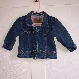 Vintage Denim Jacket w/ Embroidery- Toddler